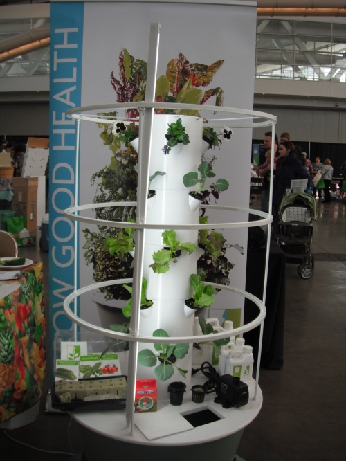 Tight on space? Try a vertical garden!