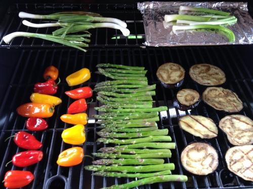 Grilling Vegetables
