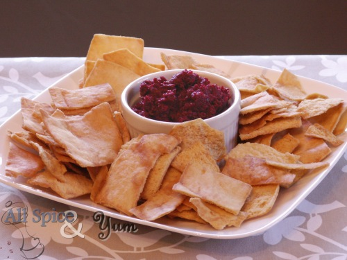 Roasted Beet and Turnip Dip