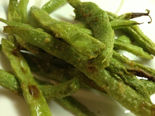Garlic Roasted Green Beans 3