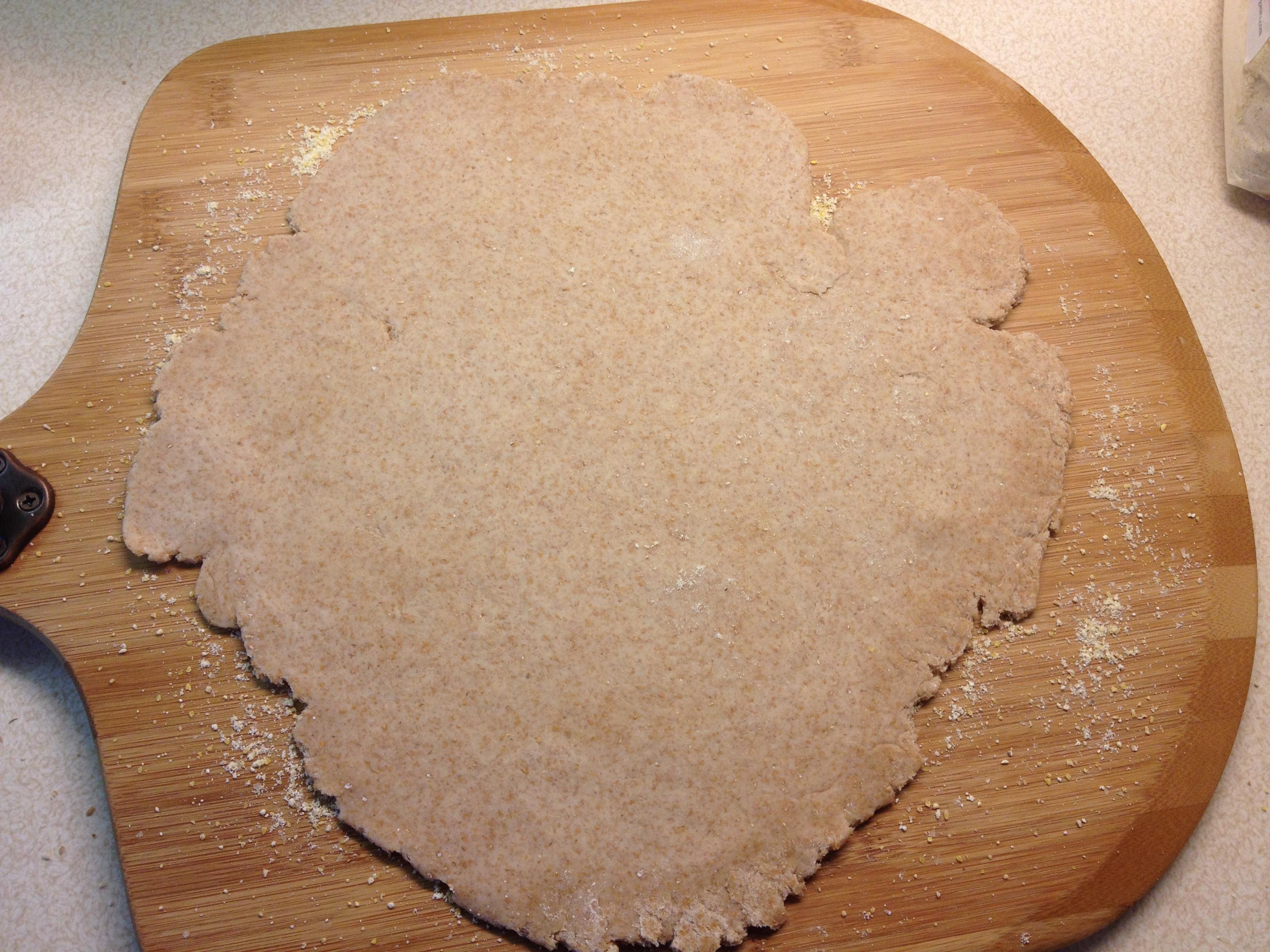 Thin Whole Wheat Crust