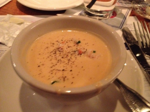 Lobster Bisque from Legal Seafood