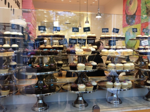 Georgetown Cupcake selection