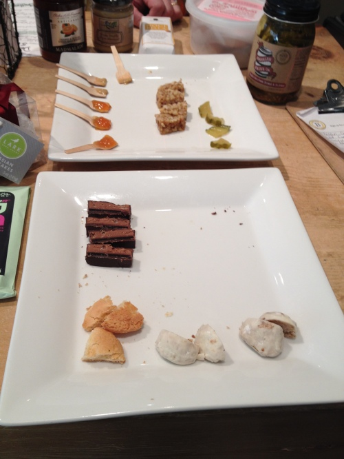Tasting plate from Bacco's