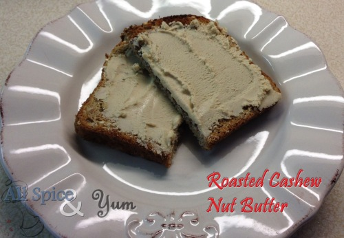 Cashew Nut Butter on Toast 1